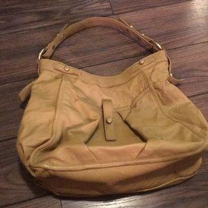 Henri Bendel tan shoulder bag